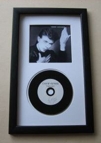 David Bowie - Heroes CD Disc presentation